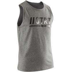Top 100 Gym Kinder Print grau