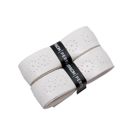 BADMINTON SUPERIOR GRIP X 2 WHITE