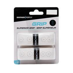 Griffband Superior Grip Badminton 2er-Pack weiß