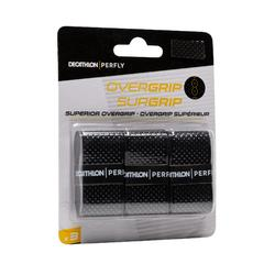 Overgrip badminton Superior zwart set van 3