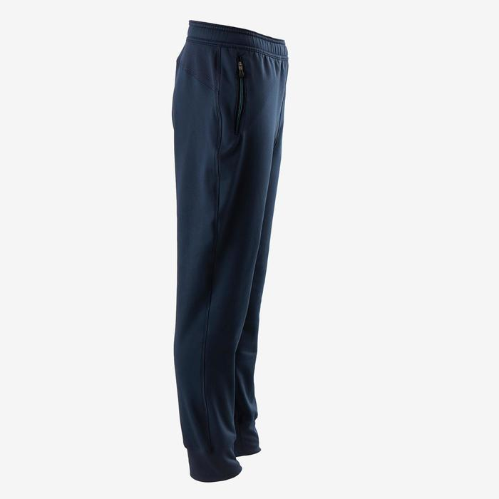 Pantalon chaud, synthétique respirant S500 garçon GYM ENFANT bleu marine uni