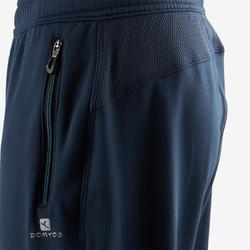 Warme broek, synthetisch ademend S500 jongens GYM KINDEREN effen marineblauw