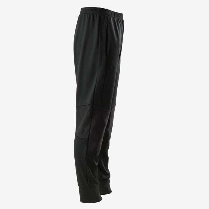 Pantalon large synthétique respirant, résistant léger S500 garçon GYMENFANT noir