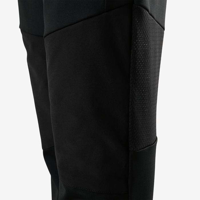 Pantalon slim synthétique respirant, résistant léger S500 garçon GYM ENFANT noir