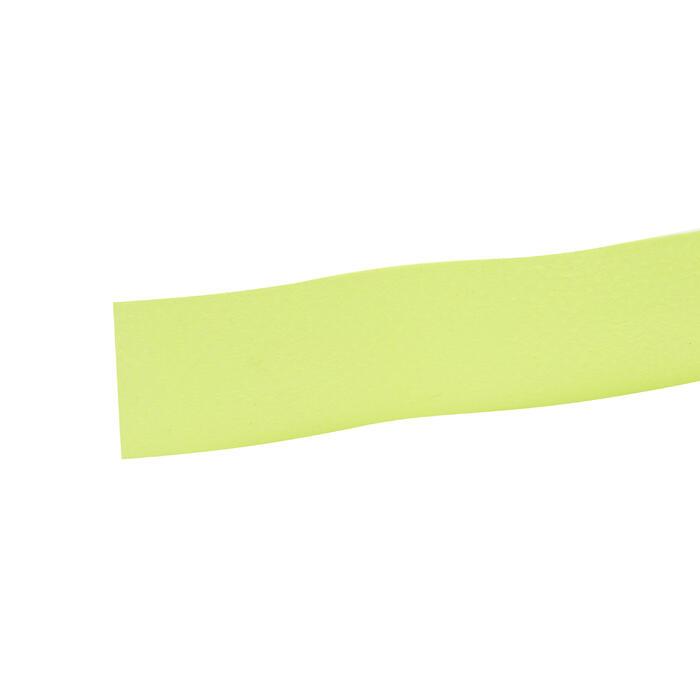 3入高級羽毛球拍握把布-螢光綠