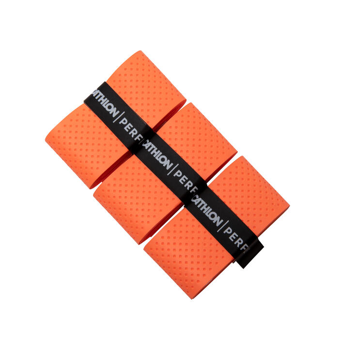 Lot de 3 Surgrips De Badminton Superior Overgrip - Orange