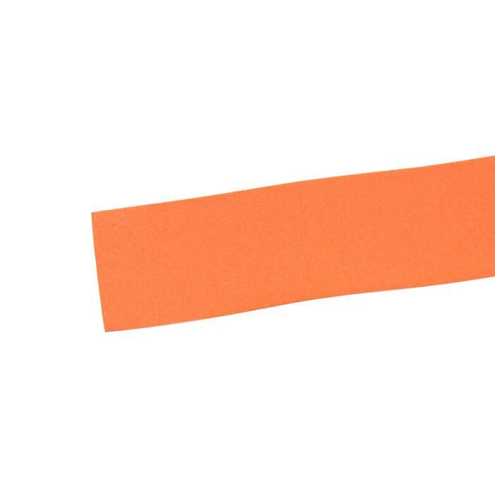 3入高級羽毛球拍握把布-橘色