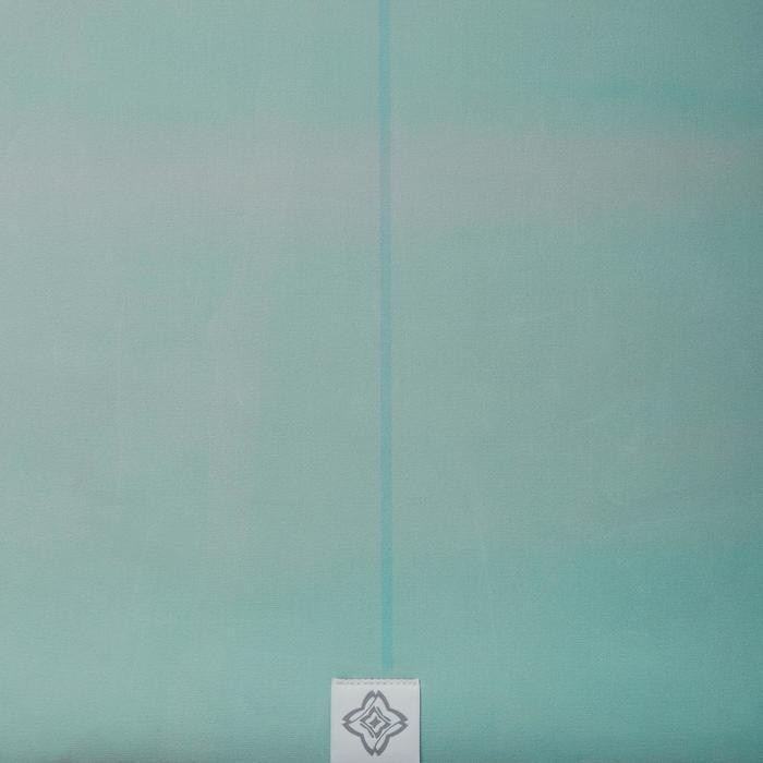 Esterilla Sobreesterilla Viaje Yoga Domyos 1,5 mm Estampado Montañas