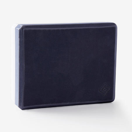 Yoga Foam Block Large - Grey/Blue