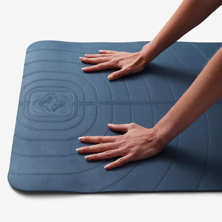 Light Grip Gentle Yoga Mat (5mm) Blue - Kimjaly