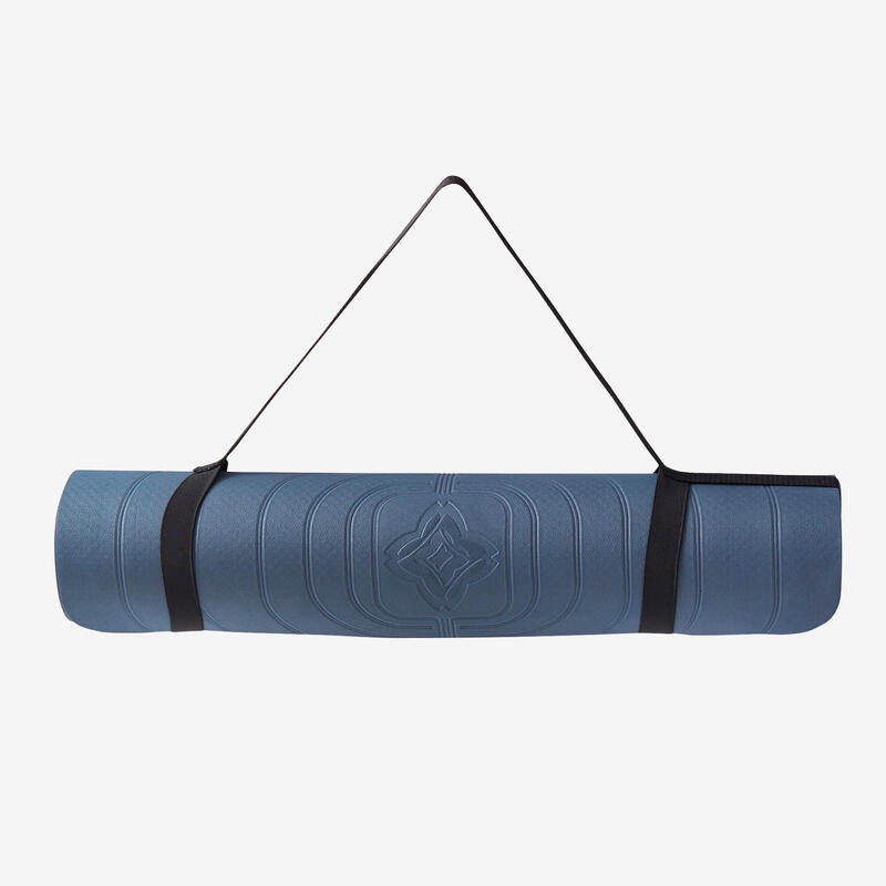 Light Gentle Yoga Mat Club 5 mm - Navy Blue