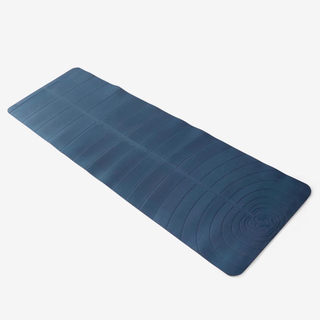 Light Gentle Yoga Mat Club 5 mm - Navy Blue