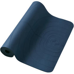 TAPIS LIGHT YOGA DOUX CLUB 5 MM BLEU MARINE