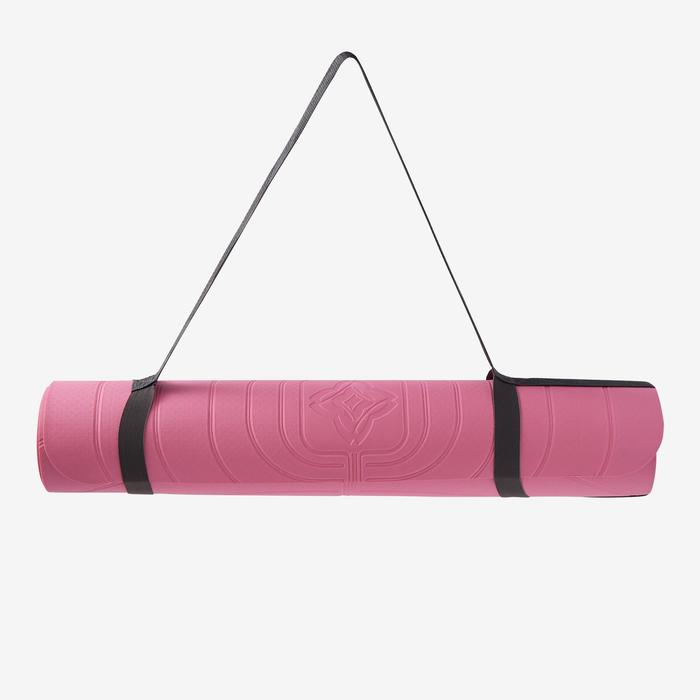 TAPIS YOGA DOUX CLUB 5 MM ROSE