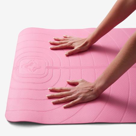 Club Gentle Yoga Mat 5 mm - Pink