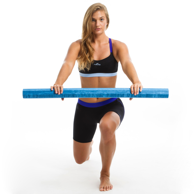 Anna women's Aquafitness Jammer Swimsuit Shorts - Black Blue