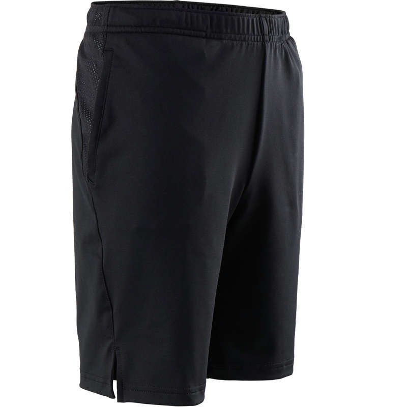 BOY EDUCATIONAL GYM APPAREL Clothing - Boys' Gym Shorts S500 - Black DOMYOS - Clothing