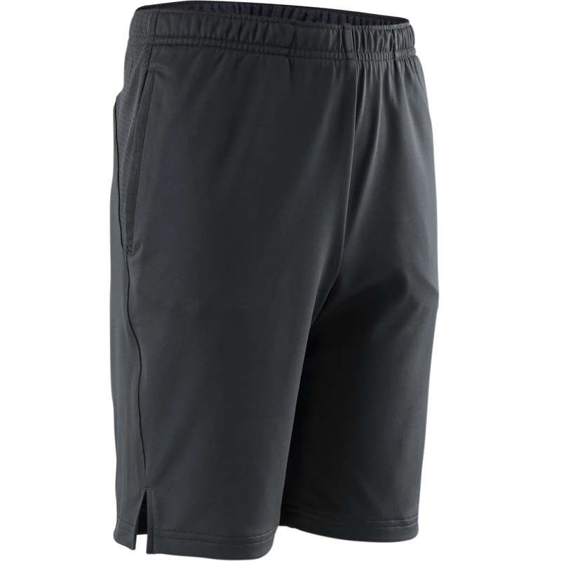BOY EDUCATIONAL GYM APPAREL Clothing - S500 Boys' Gym Shorts - Grey DOMYOS - Clothing