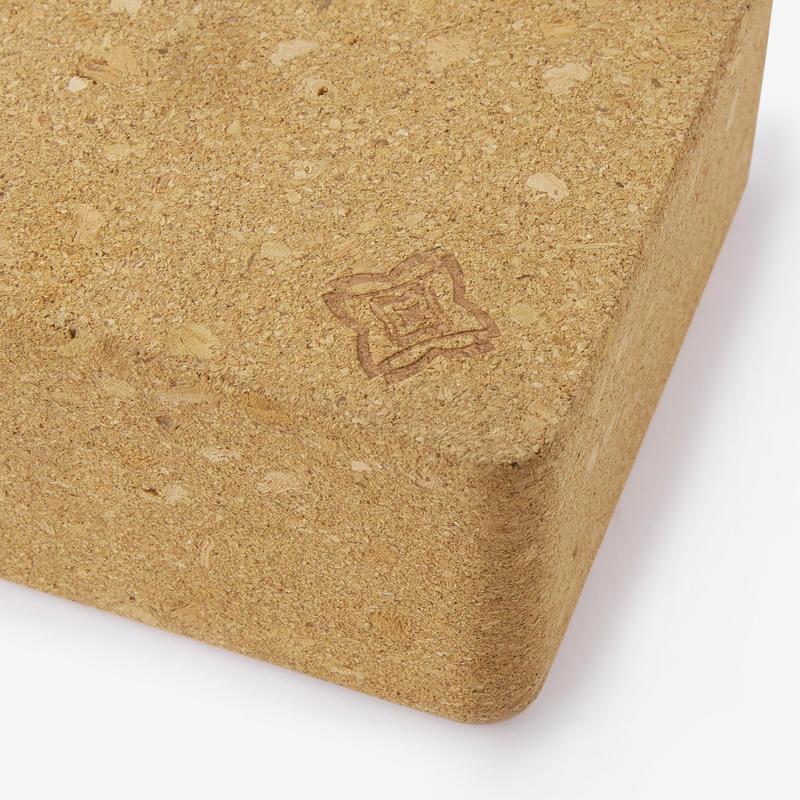 Yoga Cork Brick - Brown