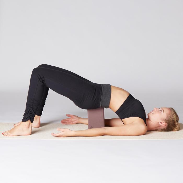 Gạch xốp tập Yoga - Đỏ Burgundy