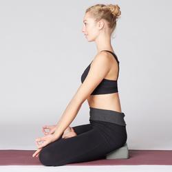 Bloque Yoga Domyos Espuma Gris Oscuro