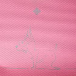 Yogamat kinderen chihuahua print 5 mm roze