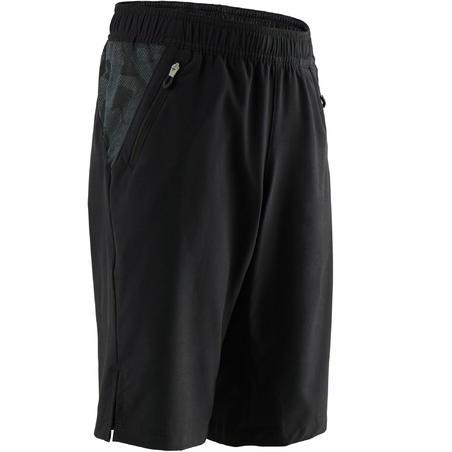 W900 Breathable Gym Shorts Black - Boys