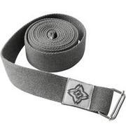 Organic Cotton Yoga Strap - Grey