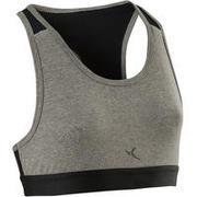 Girls' Basic Sports Bra - Grey