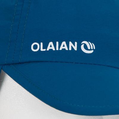 Casquette anti UV bébé nageur bleu