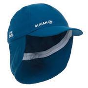 Modra kapa s šiltom za malčke
