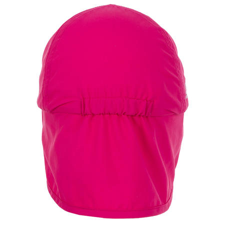 Bērnu UV aizsargājoša peldcepure ar nagu, rozā