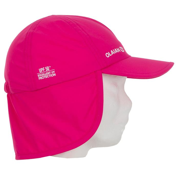 Gorra Bebé Olaian Rosa Protección UV