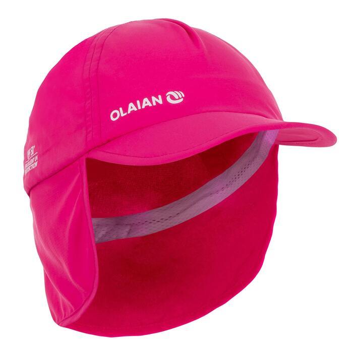 UV-Cap Schirmmütze Baby rosa