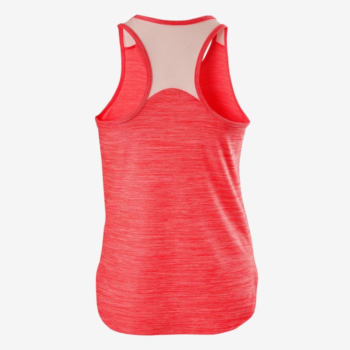 Tank-Top Gym 500 Kinder rosa