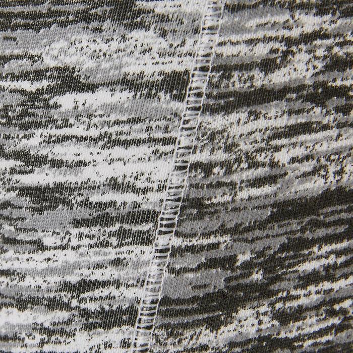Legging coton respirant 500 fille GYM ENFANT noir imprimé