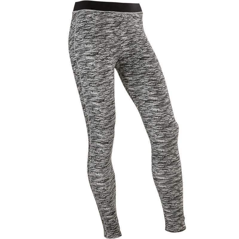 GIRL EDUCATIONAL GYM APPAREL Fitness and Gym - Girls' Breathable Leggings 500 DOMYOS - Gym Activewear