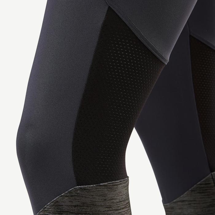 Legging synthétique respirant S500 fille GYM ENFANT gris