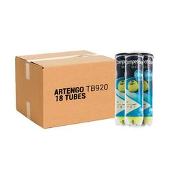 BALLE DE TENNIS COMPETITION TB920 *4 PACK *18 JAUNE