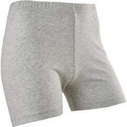 Short voor gym meisjes 100 grijs/print