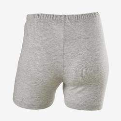 Short 100 fille GYM ENFANT gris imprimé