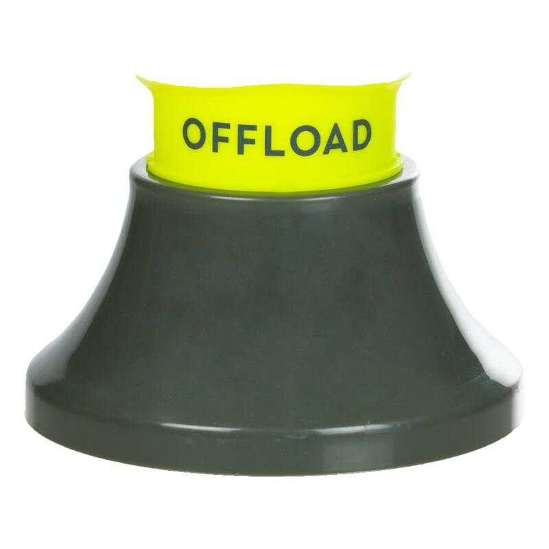 MÍČE A DOPLŇKY Ragby - KOPÁTKO R500 KHAKI-ŽLUTÉ OFFLOAD - Ragbyové míče a doplňky