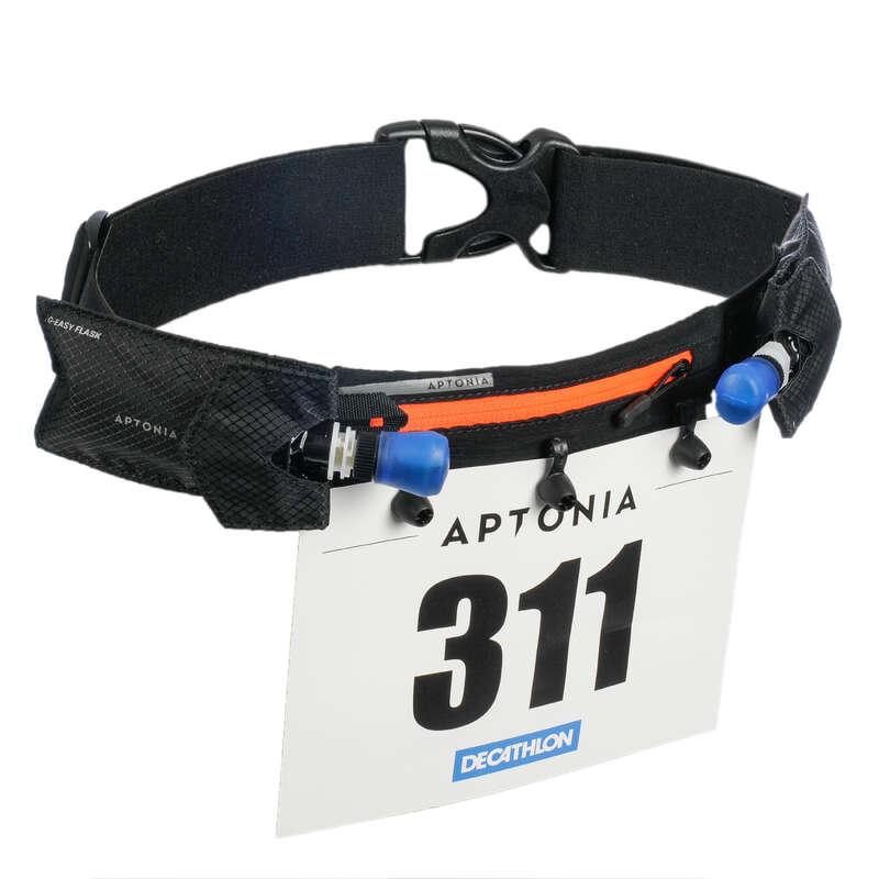 UTRUSTNING TRIATHLON-TILLBEHÖR Triathlon - Bälte nummerlapp TRI LD svart APTONIA - Triathlon