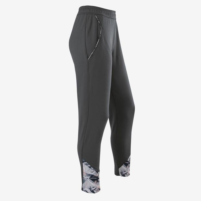 Pantalon chaud respirant regular S900 fille GYM ENFANT gris imprimé