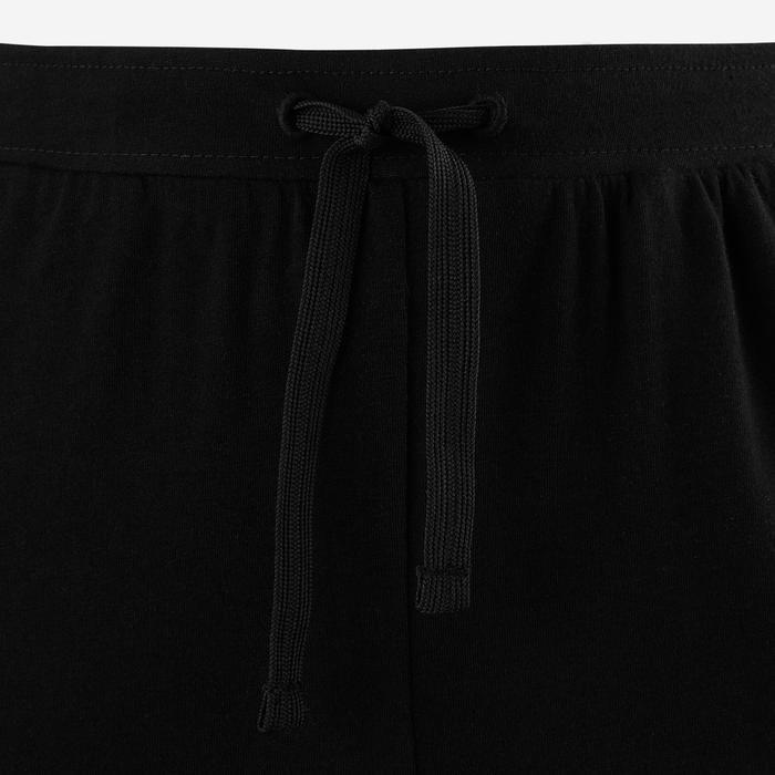 Pantalon léger Slim 100 fille GYM ENFANT noir imprimé