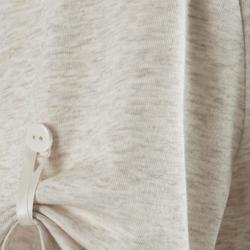 T-Shirt 510 Pilates Gym douce femme beige printé