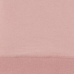 Sweater voor work-out dames 100 roze