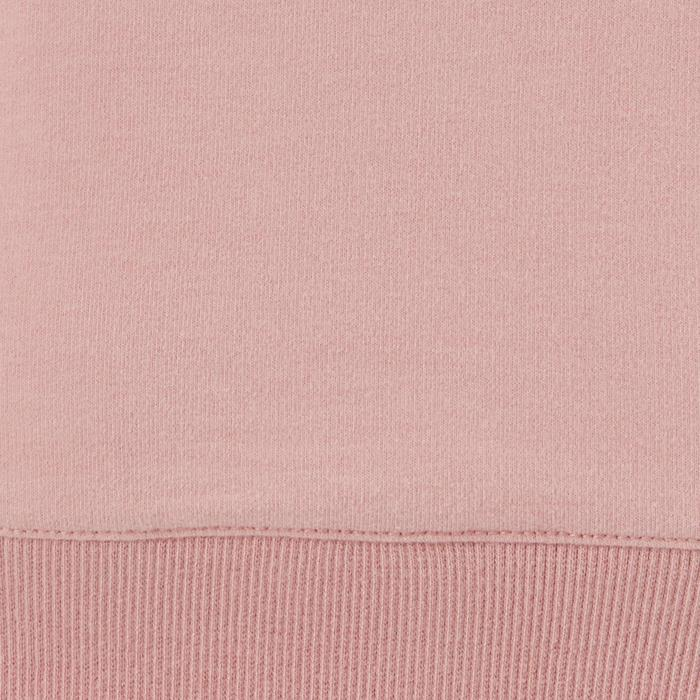 Sweatshirt 100 Training Damen rosa