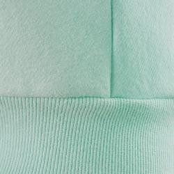 Sweat capuche chaud 100 fille GYM ENFANT bleu imprimé