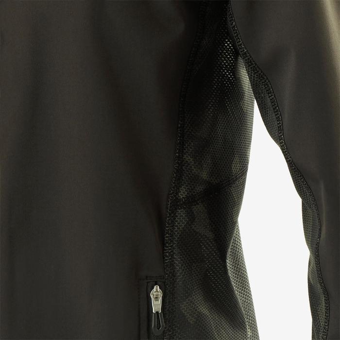 Licht ademend vest S900 jongens GYM KINDEREN zwart en kaki AOP